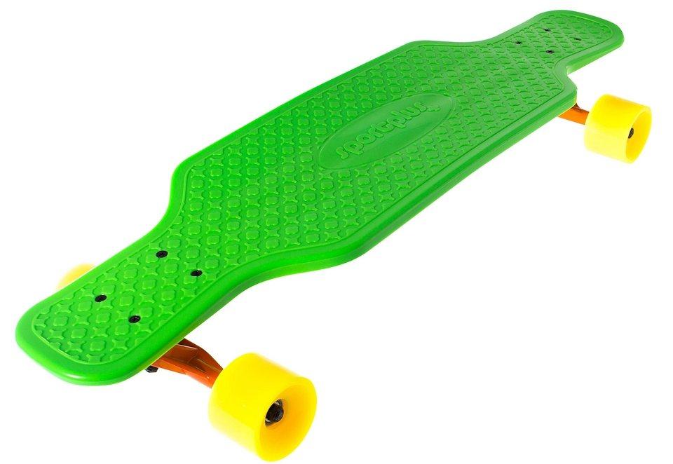 Sportplus EZY! Longboard, »Frog Snap SP-SB-203« in grün