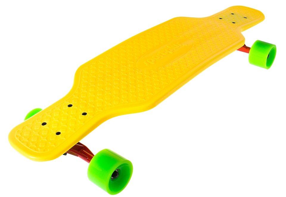 Sportplus EZY! Longboard, »Bee Sting SP-SB-205« in gelb