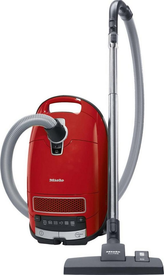 Miele Bodenstaubsauger Complete C3 EcoLine, Energieklasse A in Mangorot