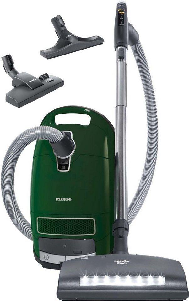 Miele Bodenstaubsauger Complete C3 Comfort Electro EcoLine, Energieklasse A in Racinggreen