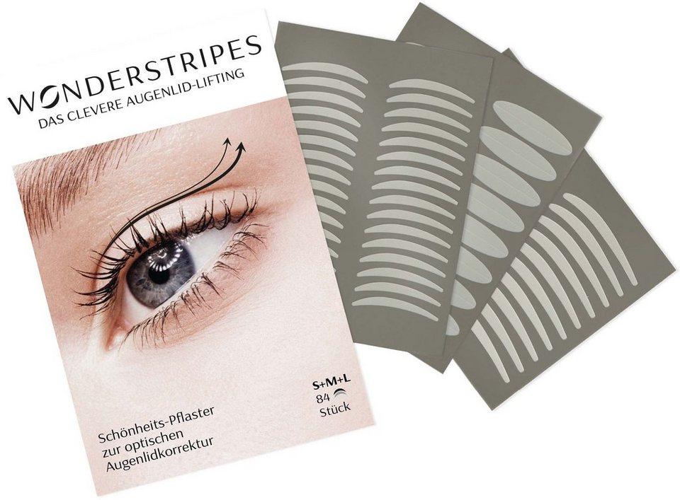 Wonderstripes, »Kombi-Packung«, Augenlid-Korrektur Pflaster in 3 verschiedenen Größen