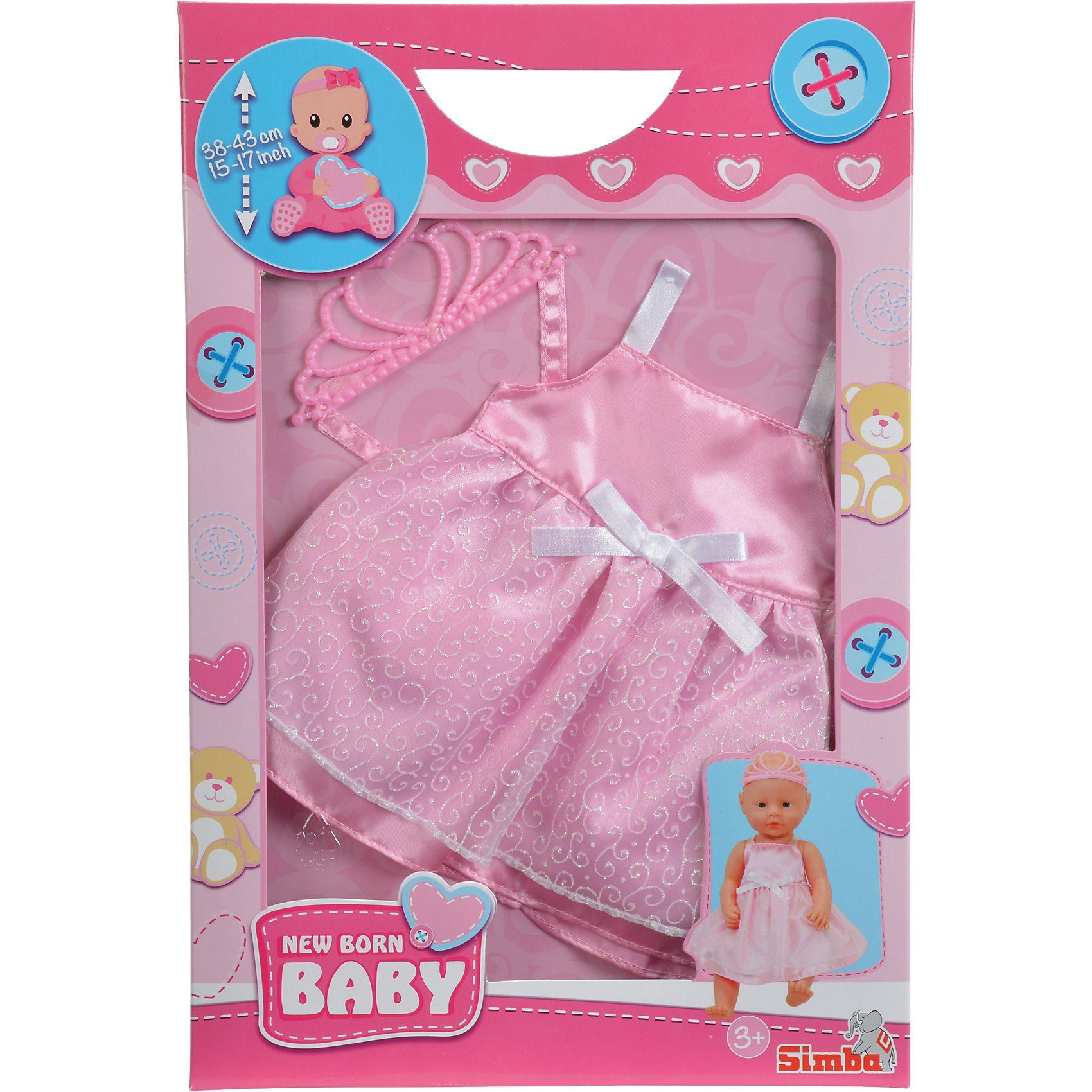 Simba Puppenkleidung Prinzessin Outfit, 38-43cm