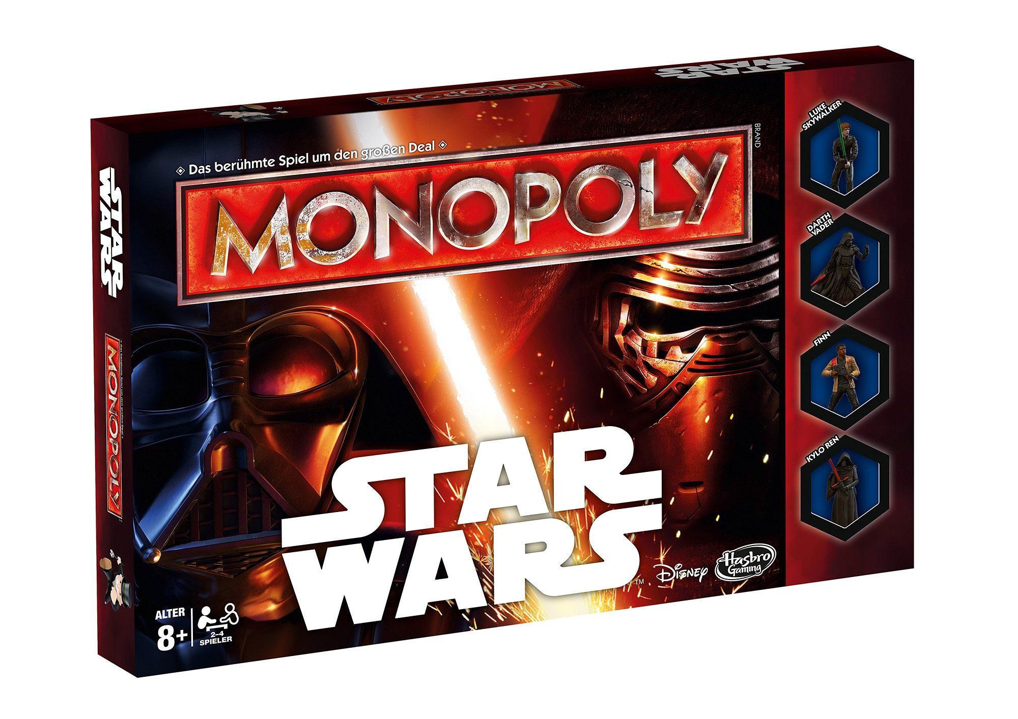 Hasbro Familien-Spiel, »Monopoly - Star Wars«