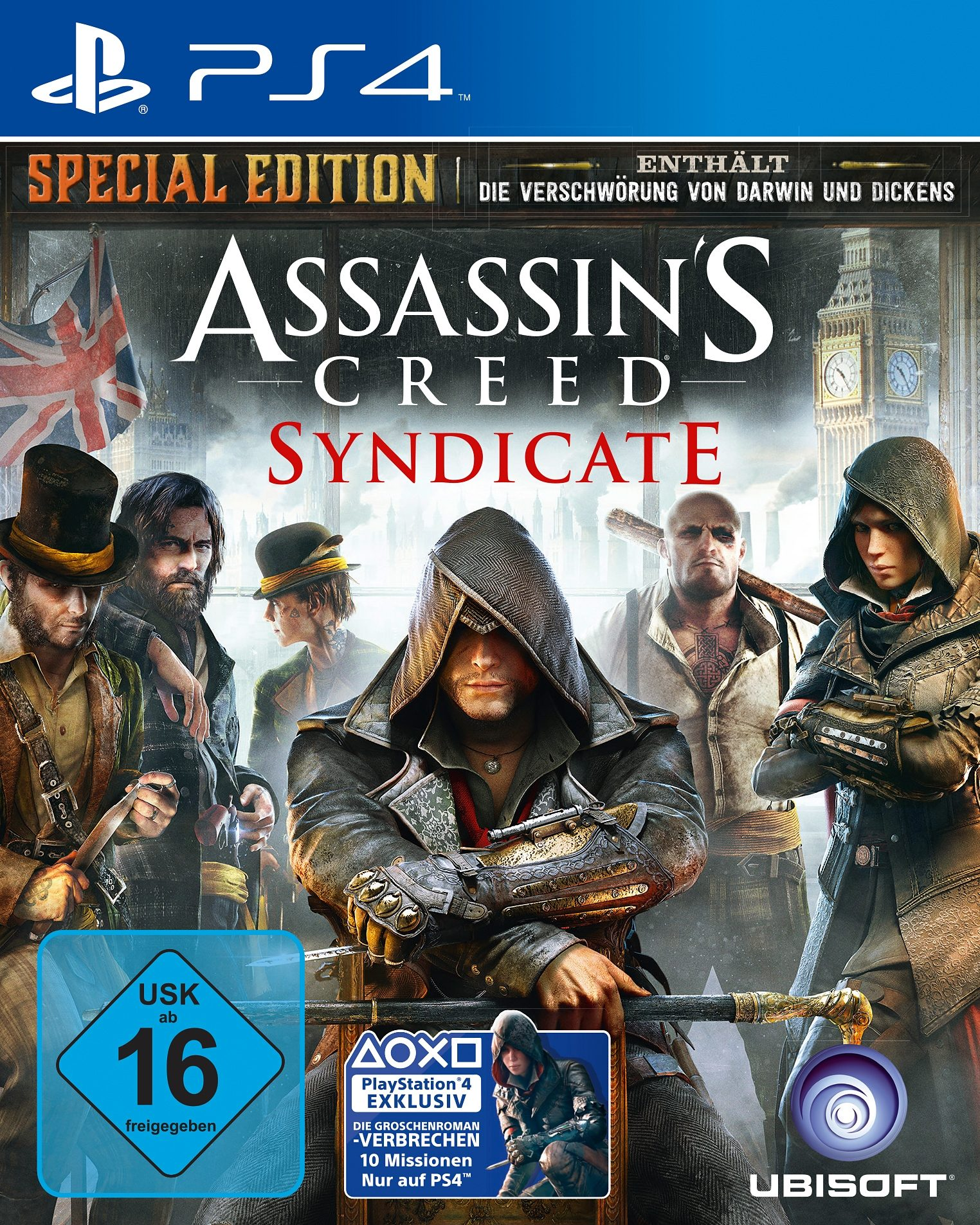 Assassins Creed Syndicate Special Edition PlayStation 4