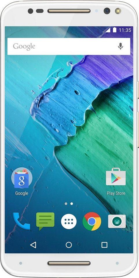 Lenovo Moto X Style Smartphone, 14,4 cm (5,7 Zoll) Display, LTE (4G), NFC in weiß