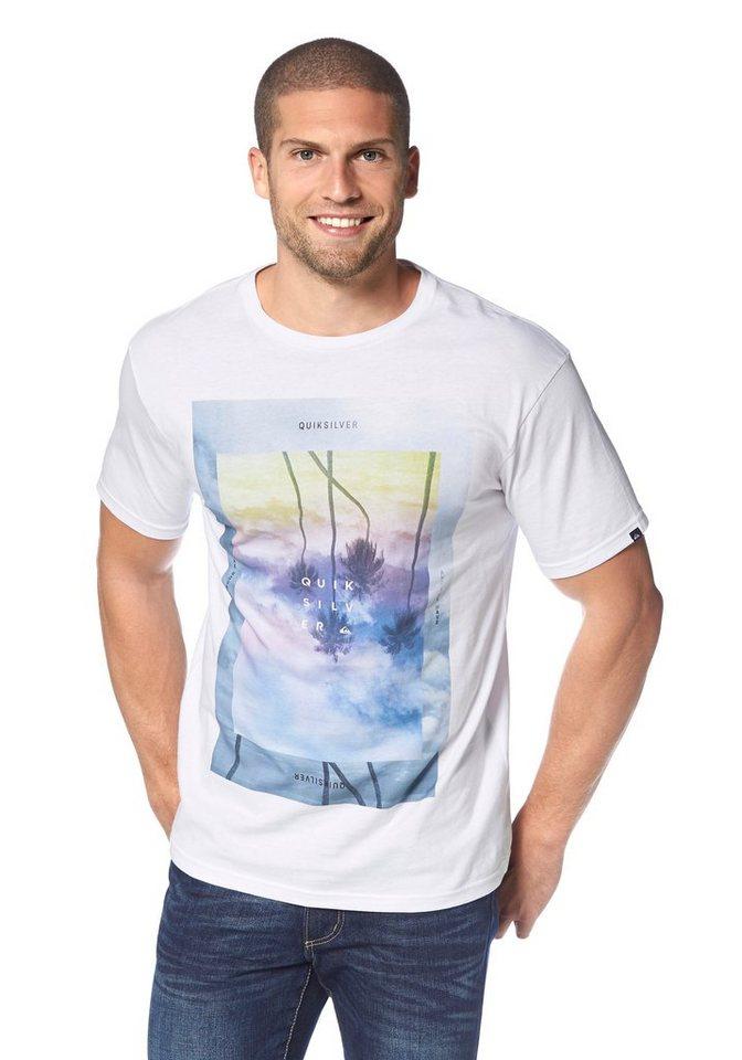 Quiksilver T-Shirt in Weiß