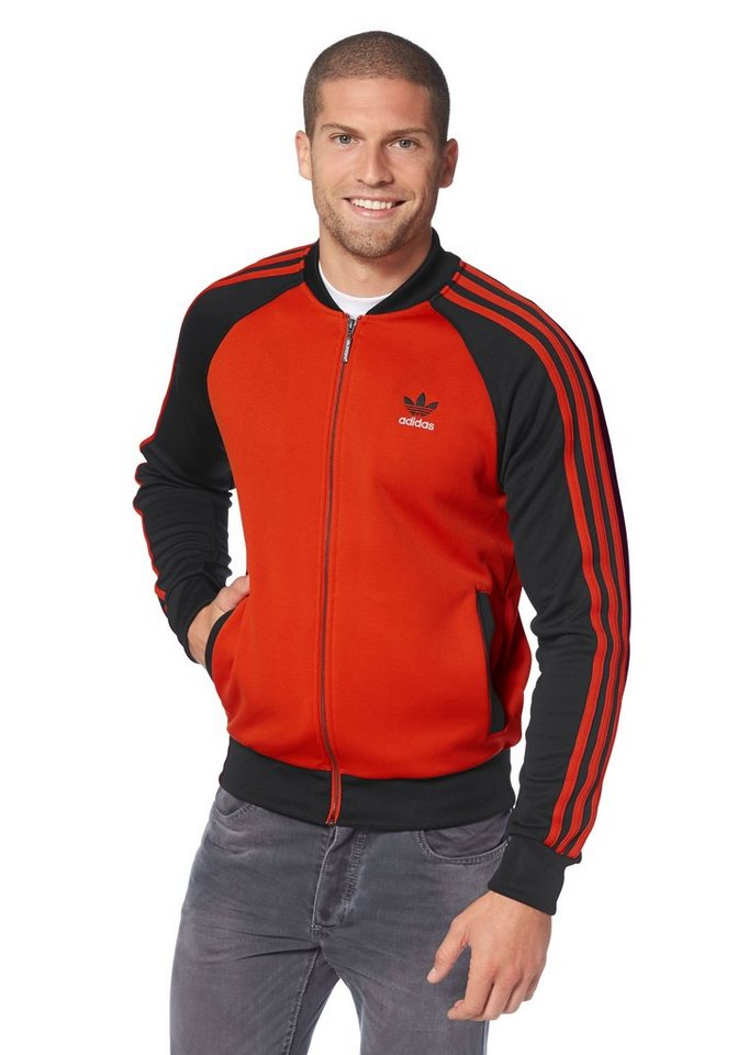 adidas Originals Sweatjacke in Rot