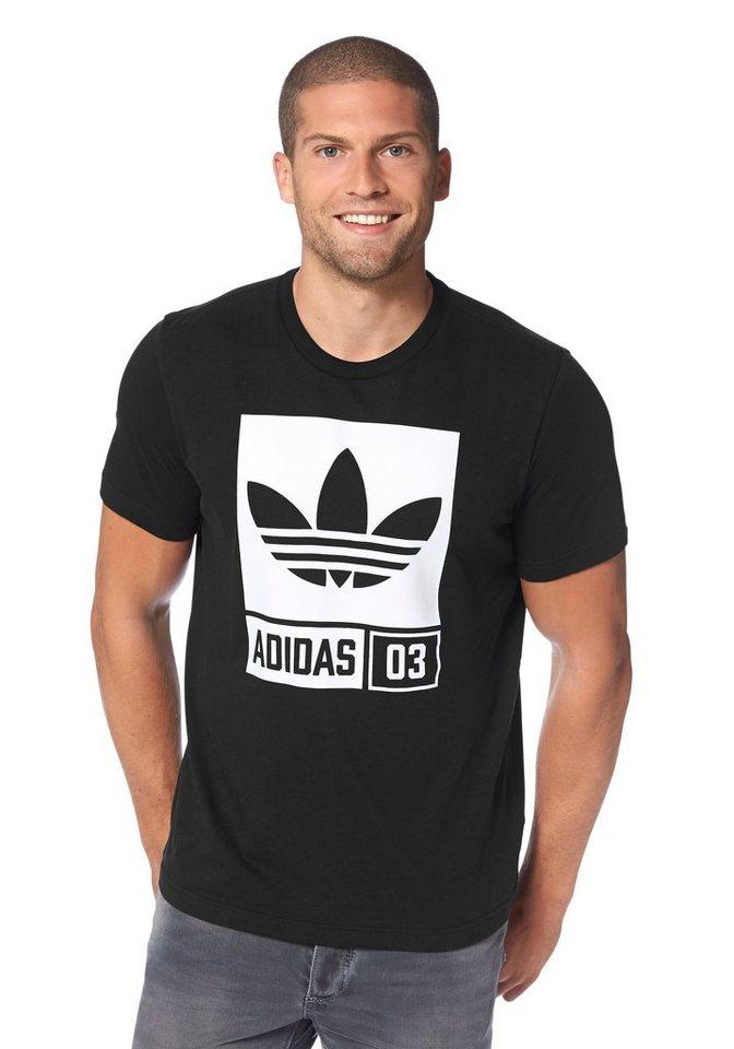 adidas Originals T-Shirt in Schwarz