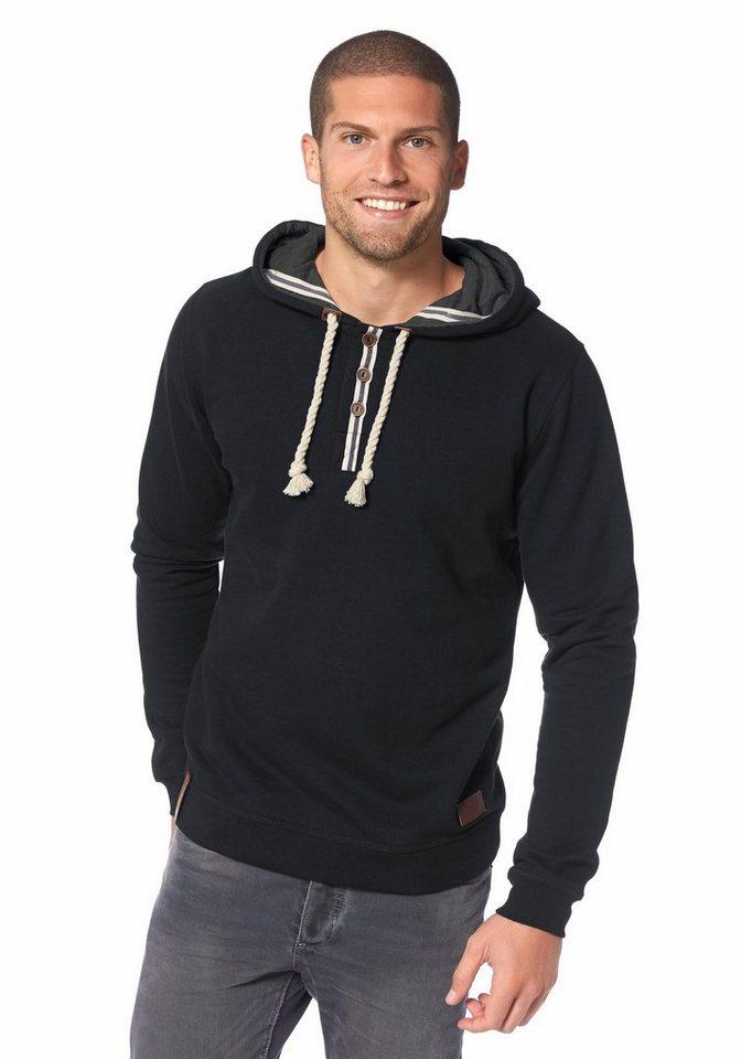 Ocean Sportswear Kapuzensweatshirt in schwarz