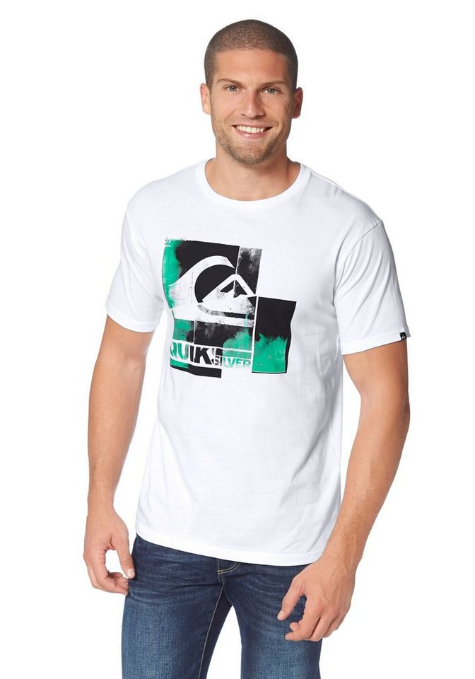 quiksilver t shirt online kaufen otto. Black Bedroom Furniture Sets. Home Design Ideas