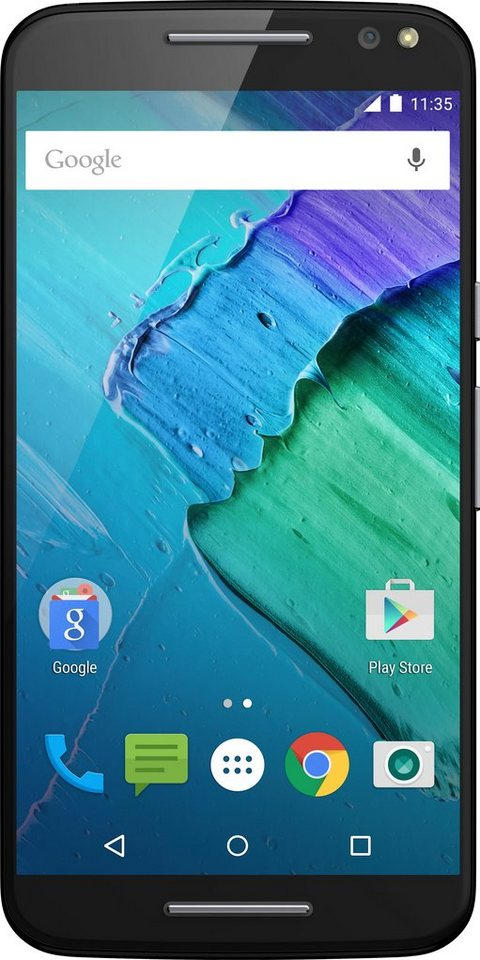 Lenovo Moto X Style Smartphone, 14,4 cm (5,7 Zoll) Display, LTE (4G), NFC in schwarz