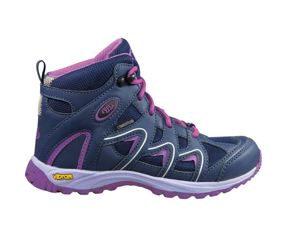 Brütting Hoher Outdoorschuh aus Nylon-Mesh »VISION HIGH K« in lila/pink