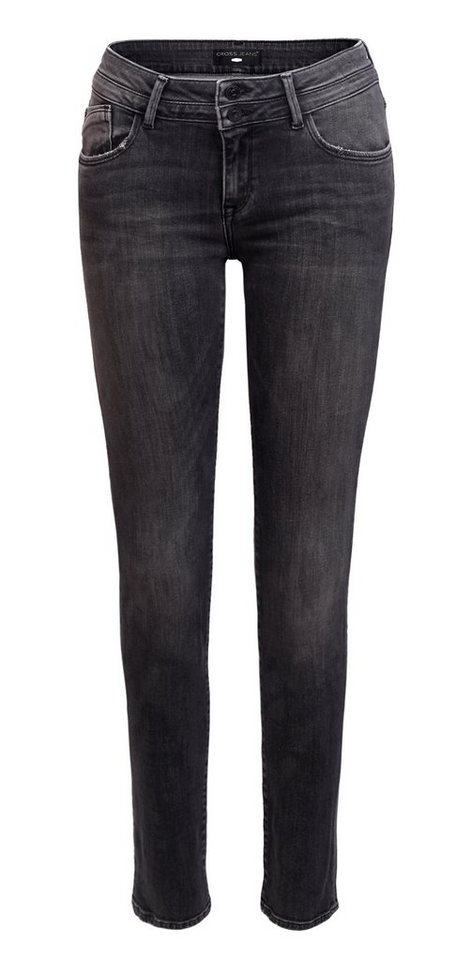 CROSS Jeans ® Jeans - Super Skinny Fit »Adriana« in grey used
