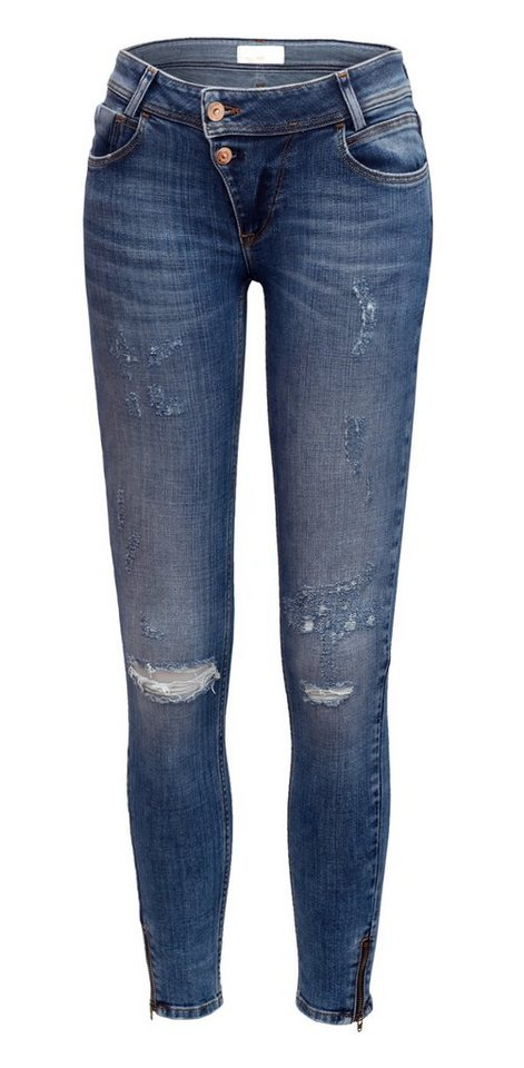 CROSS Jeans ® Jeans »Giselle« in destroyed mid used
