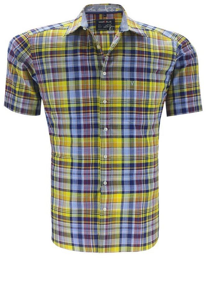 marvelis Kurzarmhemd in Gelb