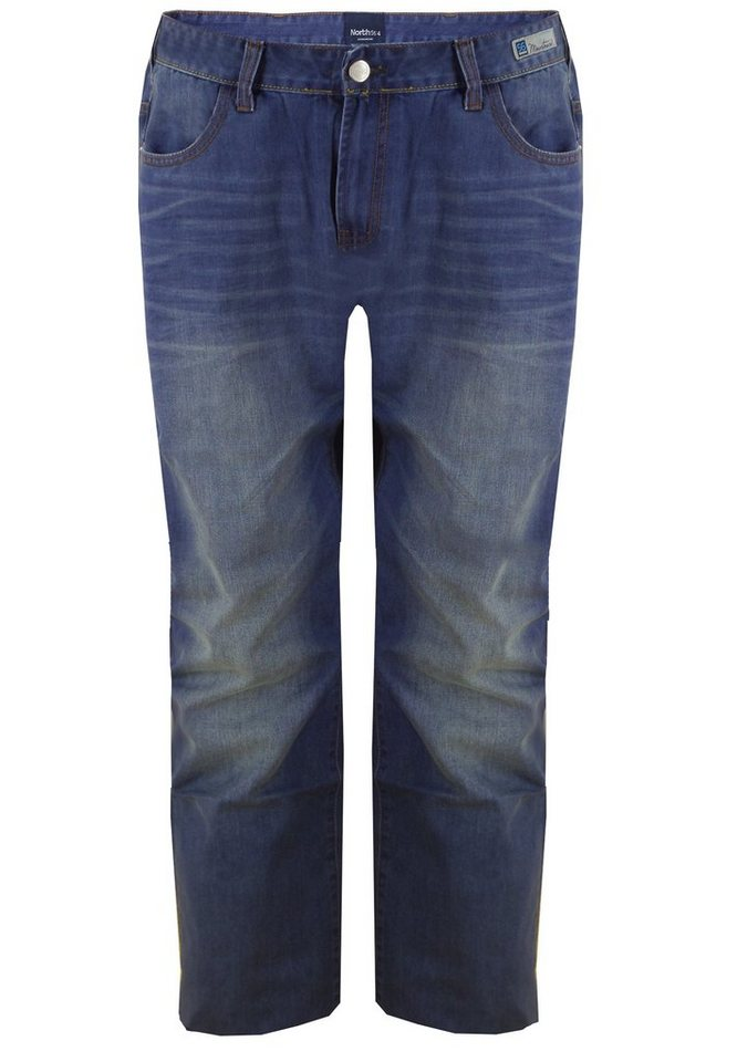 north 56 4 Jeans in Blue Used Wash