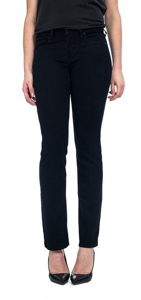 NYDJ Straight Leg Jeans in Black