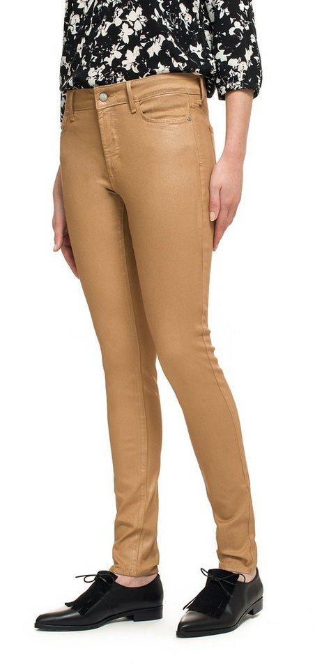 NYDJ Ami Skinny Legging in Rose Gold Coating