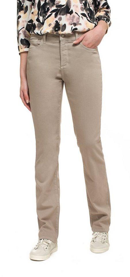 NYDJ Marilyn Straight Jeans in Oatmeal