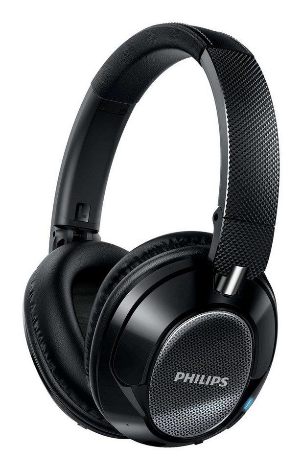 Philips On-Ear High-Resolution Bluetooth®-Kopfhörer »SHB9850NC/00« in schwarz