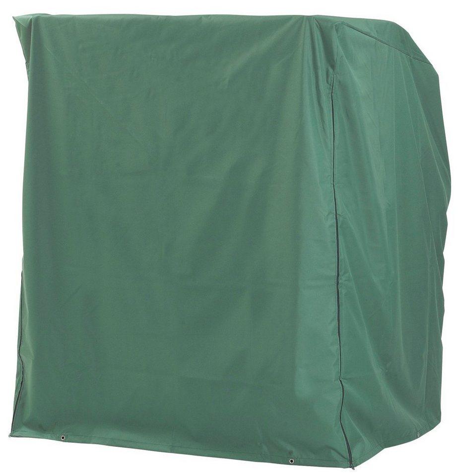 Strandkorb Schutzhülle für 2-Sitzer, Grün in grau