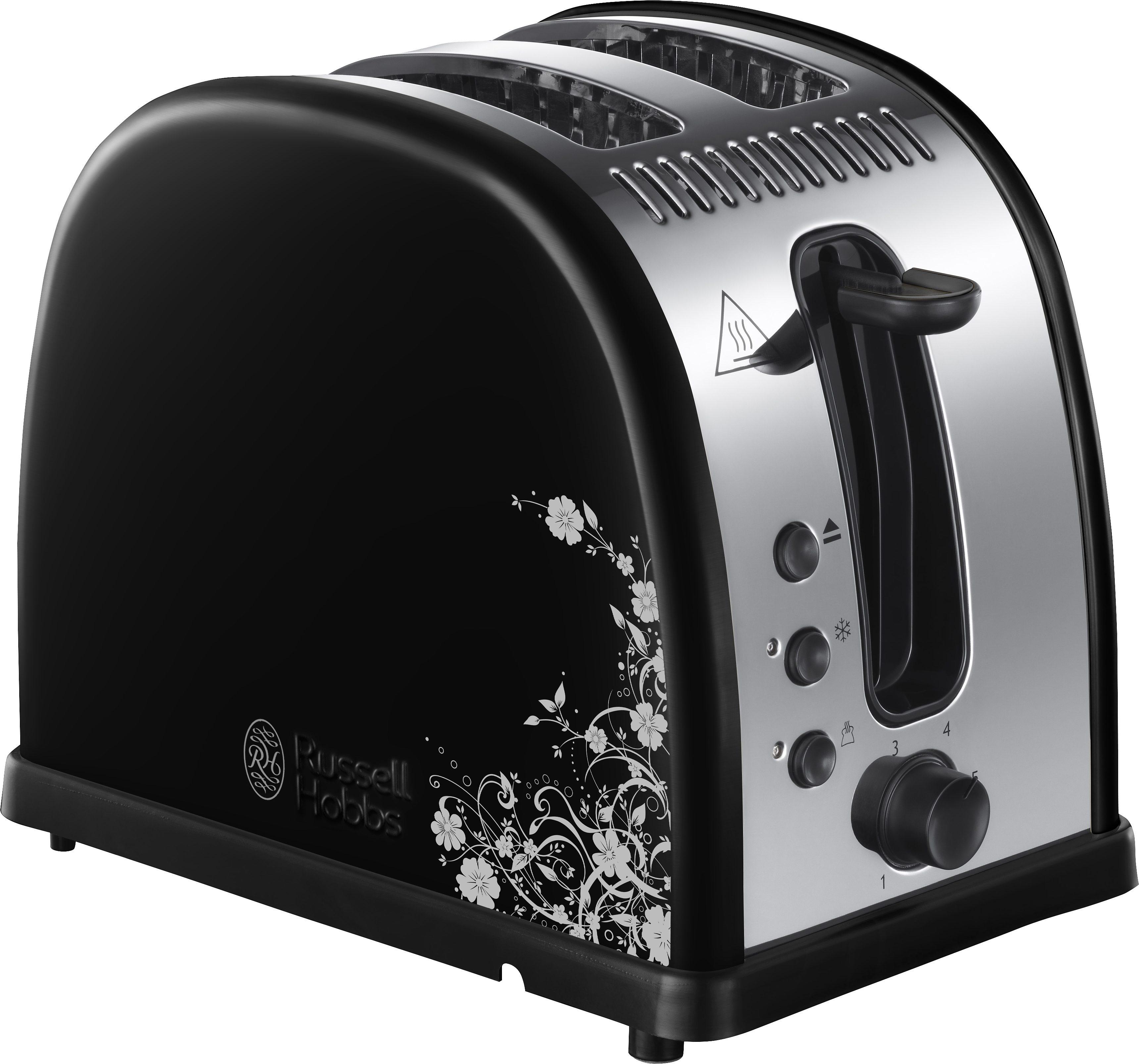 Russell Hobbs Toaster Legacy Floral 21971-56 für 2 Scheiben, max. 1300 Watt