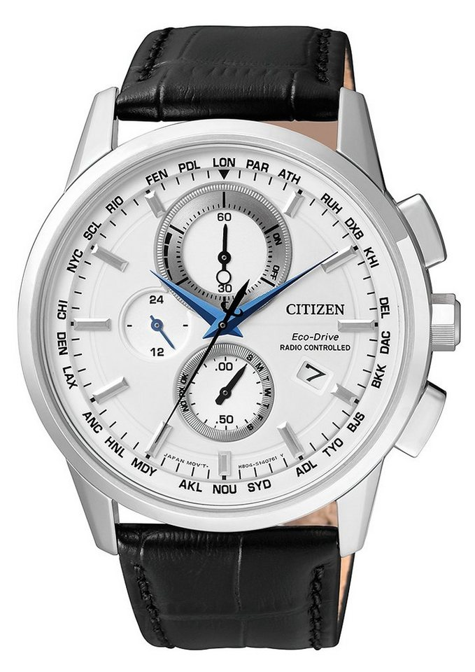 Citizen Funkchronograph »AT8110-11A« in schwarz