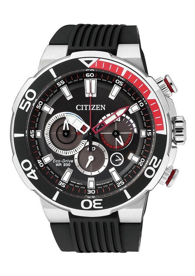 """Citizen, Chronograph, """"CA4250-03E"""" in schwarz"""