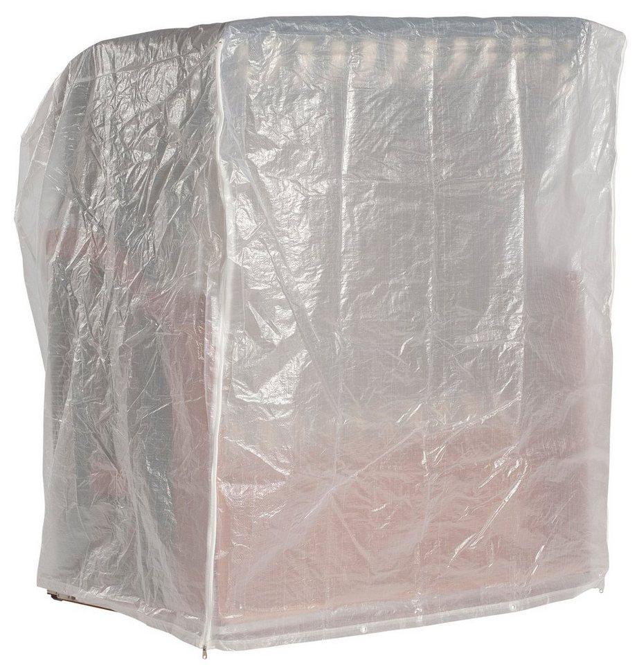 Strandkorb Schutzhülle für 2-Sitzer XL, Weiß in weiß