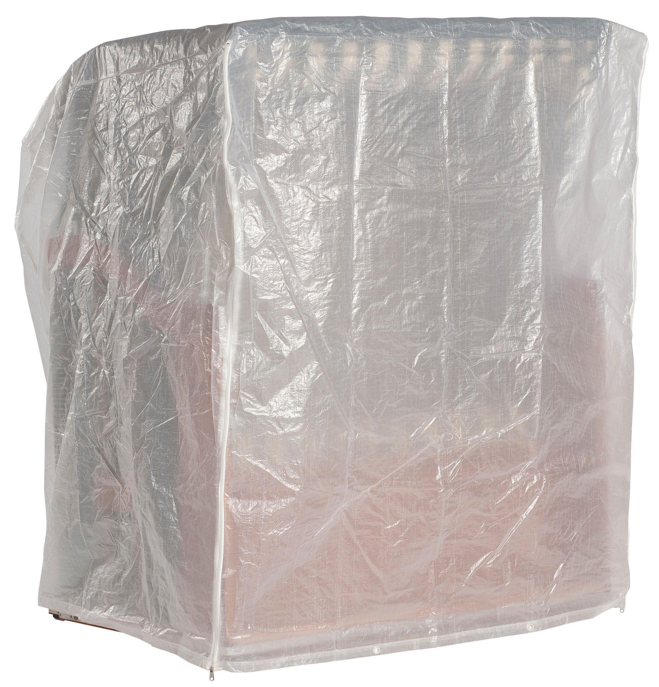 Strandkorb Schutzhülle für 2-Sitzer XL, Weiß
