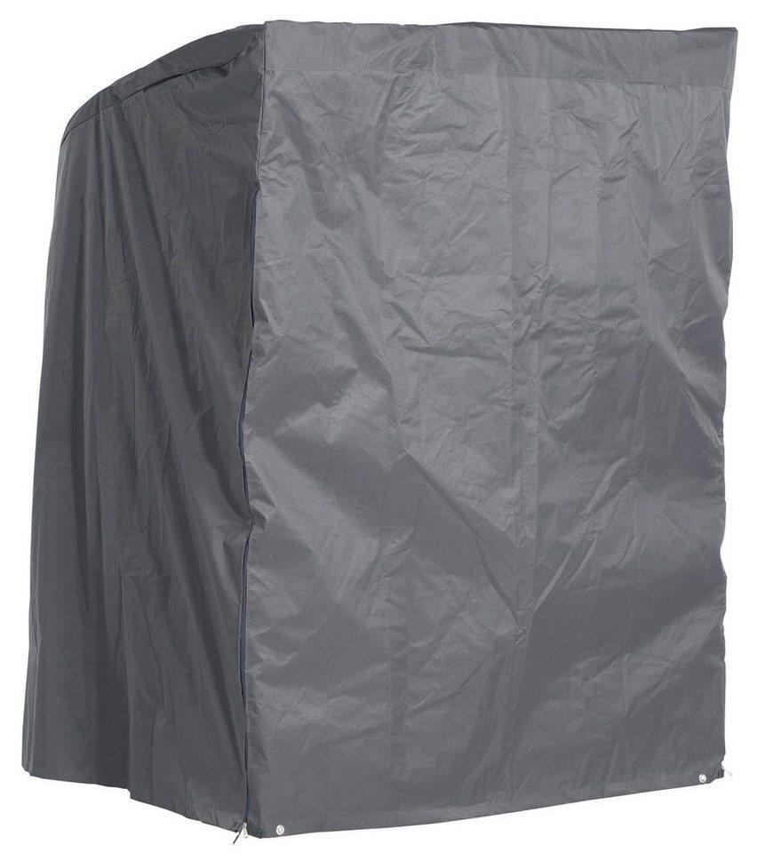 Strandkorb Schutzhülle für 2-Sitzer XL, Anthrazit in grau