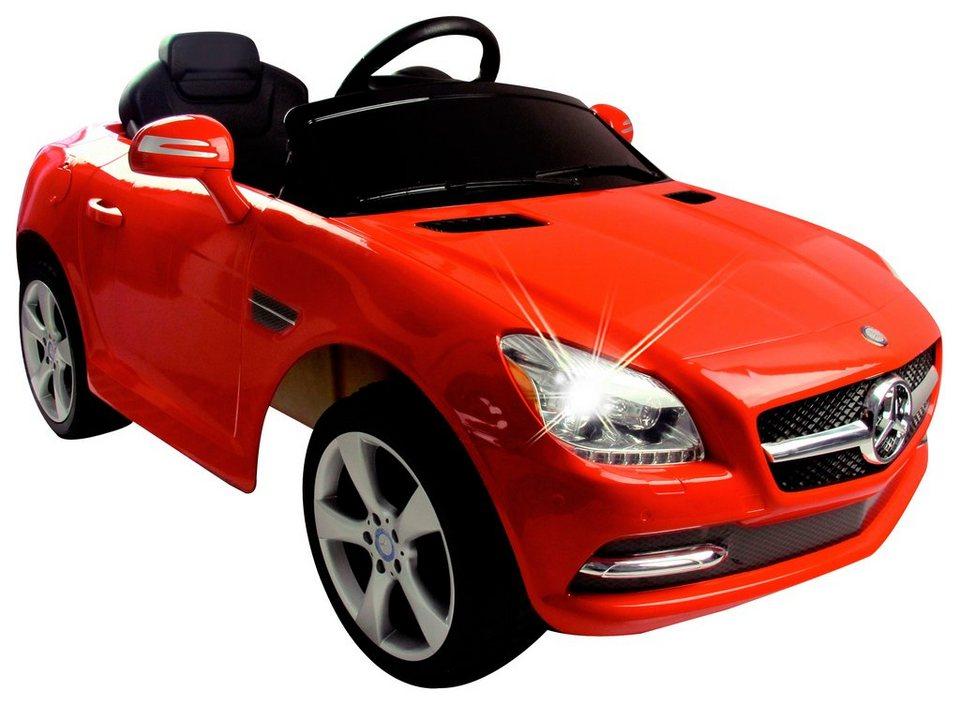 Elektro Kinderauto »Ride-On Mercedes SLK, 27 MHz« rot in rot
