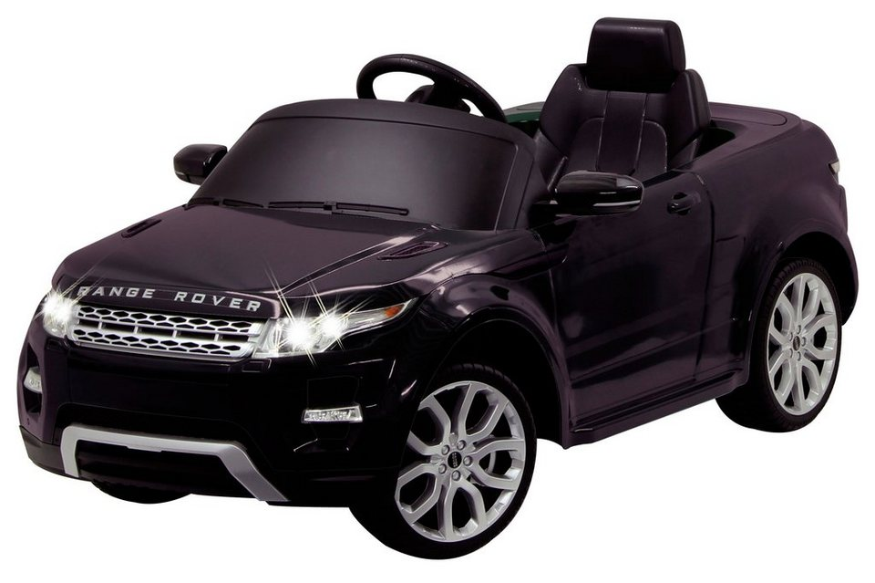 Elektro Kinderauto »Ride-On Landrover Evoque, 40 MHz« schwarz in schwarz