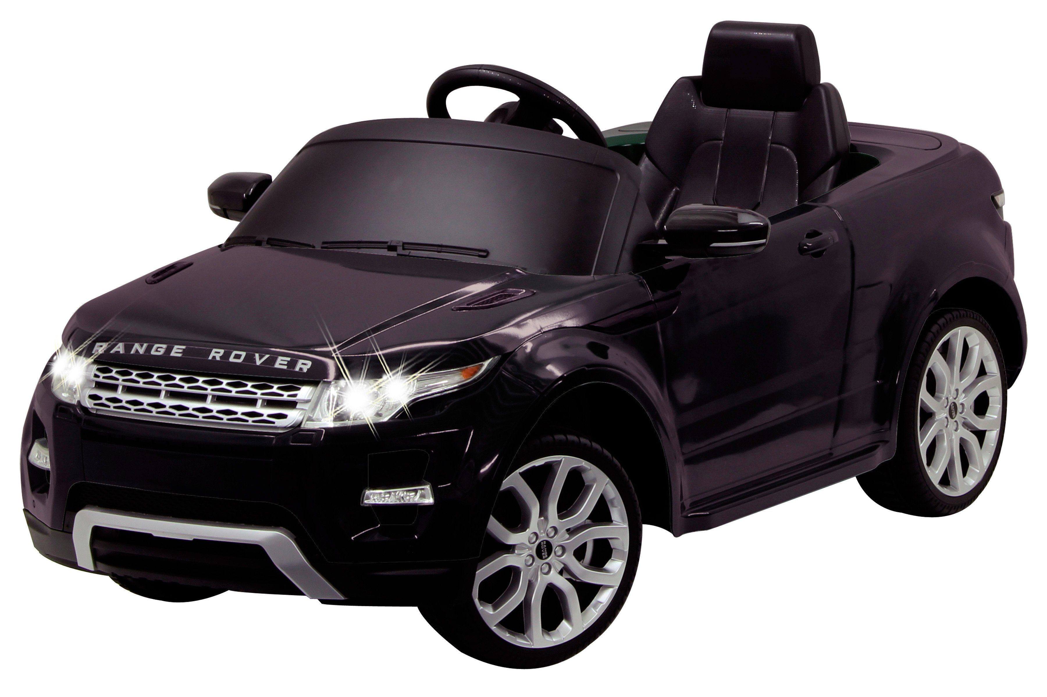 JAMARA KIDS Elektroauto »Ride-On Land Rover Evoque«, schwarz, inkl. Fernsteuerung