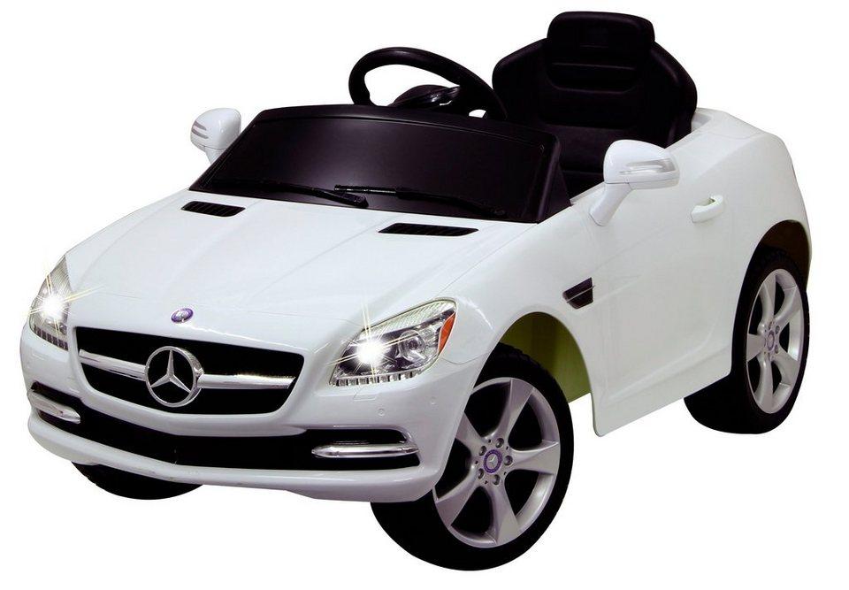 Elektro Kinderauto »Ride-On Mercedes SLK, 27 MHz« weiß in weiß