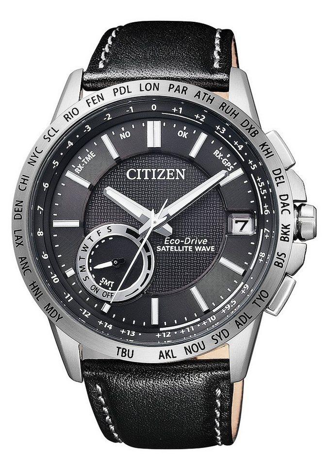 Citizen Solaruhr »CC3000-03E« Mit Satelitte Timekeeping System in schwarz