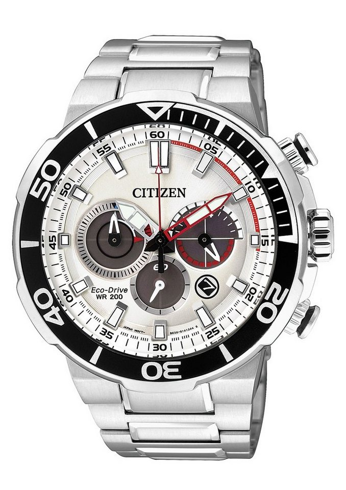 Citizen Chronograph »CA4250-54A« in silberfarben