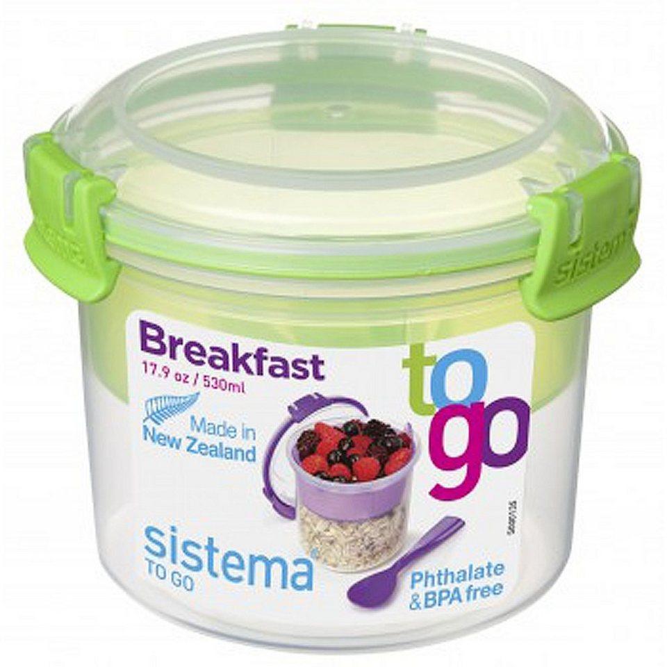 sistema sistema Box Breakfast To Go 0.53 l, grün in grün