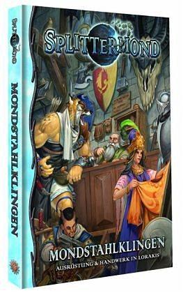Gebundenes Buch »Splittermond: Mondstahlklingen«