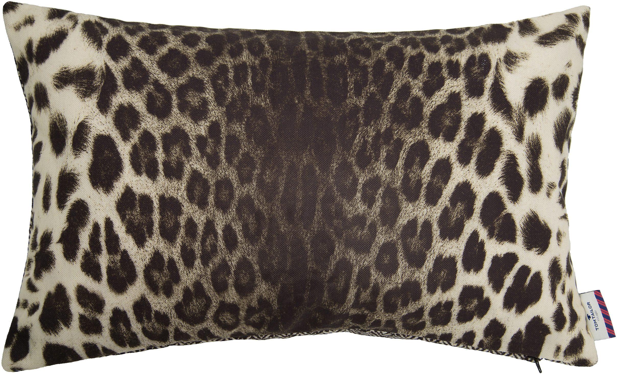 Kissenhülle, Tom Tailor, »Leopard« (1 Stück)
