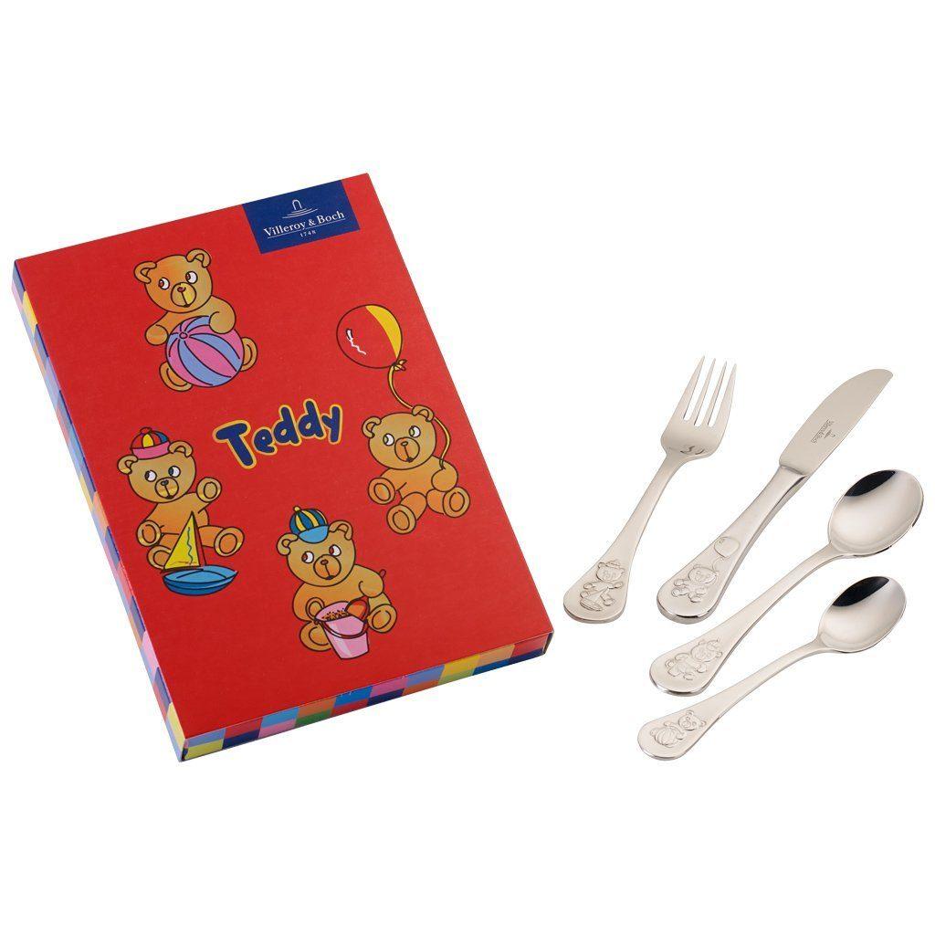 Villeroy & Boch Kinderbesteck 4tlg. 21,5x15x2,5cm »Teddy«