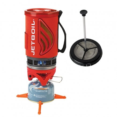 Jetboil Kocher »Jetboil Coffee FLASH« in tomato red