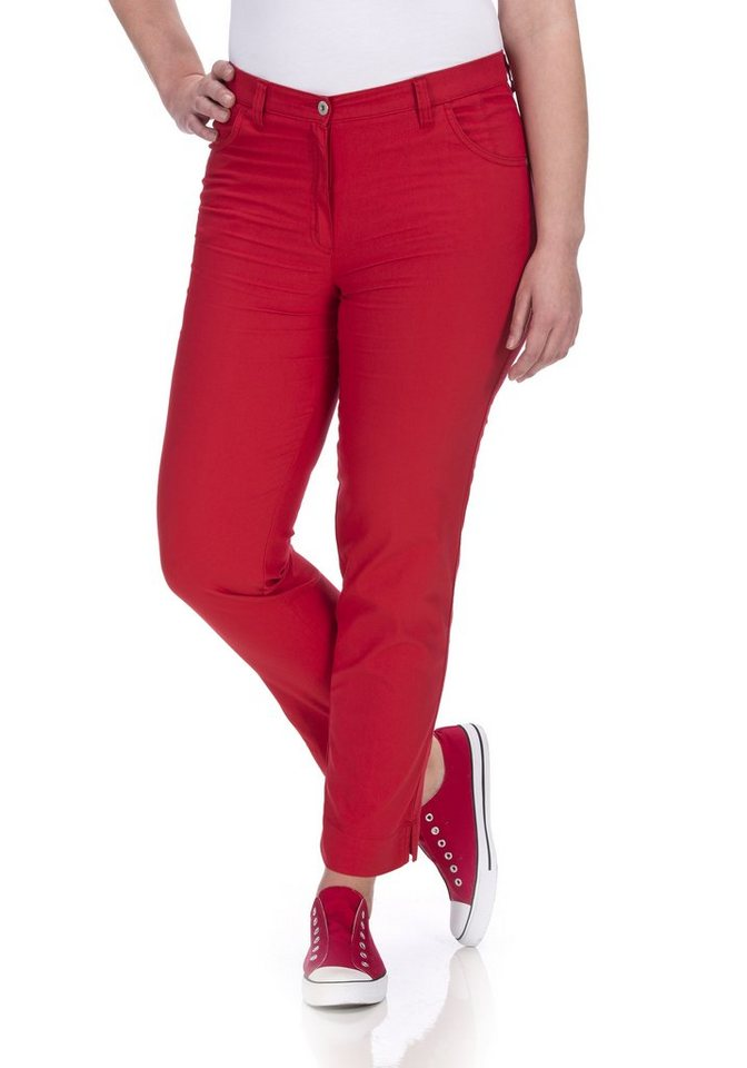 KjBRAND Hose »Betty Chino« in hochrot