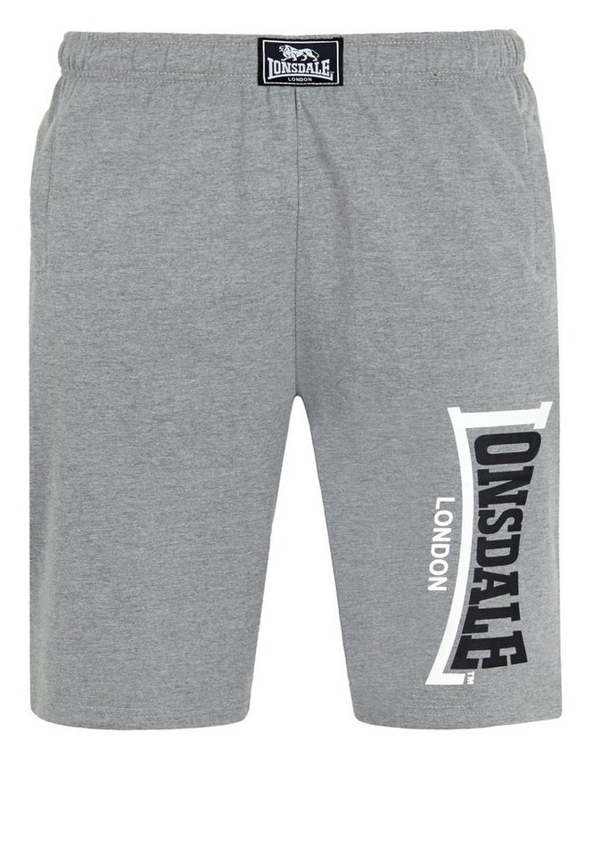 Lonsdale Short in Marl Grey