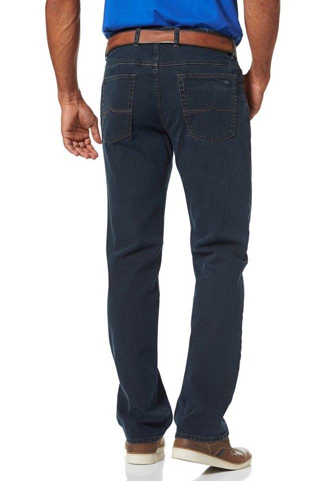 Man's World Stretch-Jeans mit Suprax Stretch-Bund in dark-blue