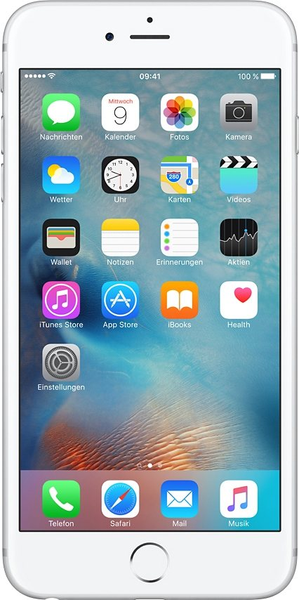 "Apple iPhone 6s Plus 5,5"" 16 GB in Silber"
