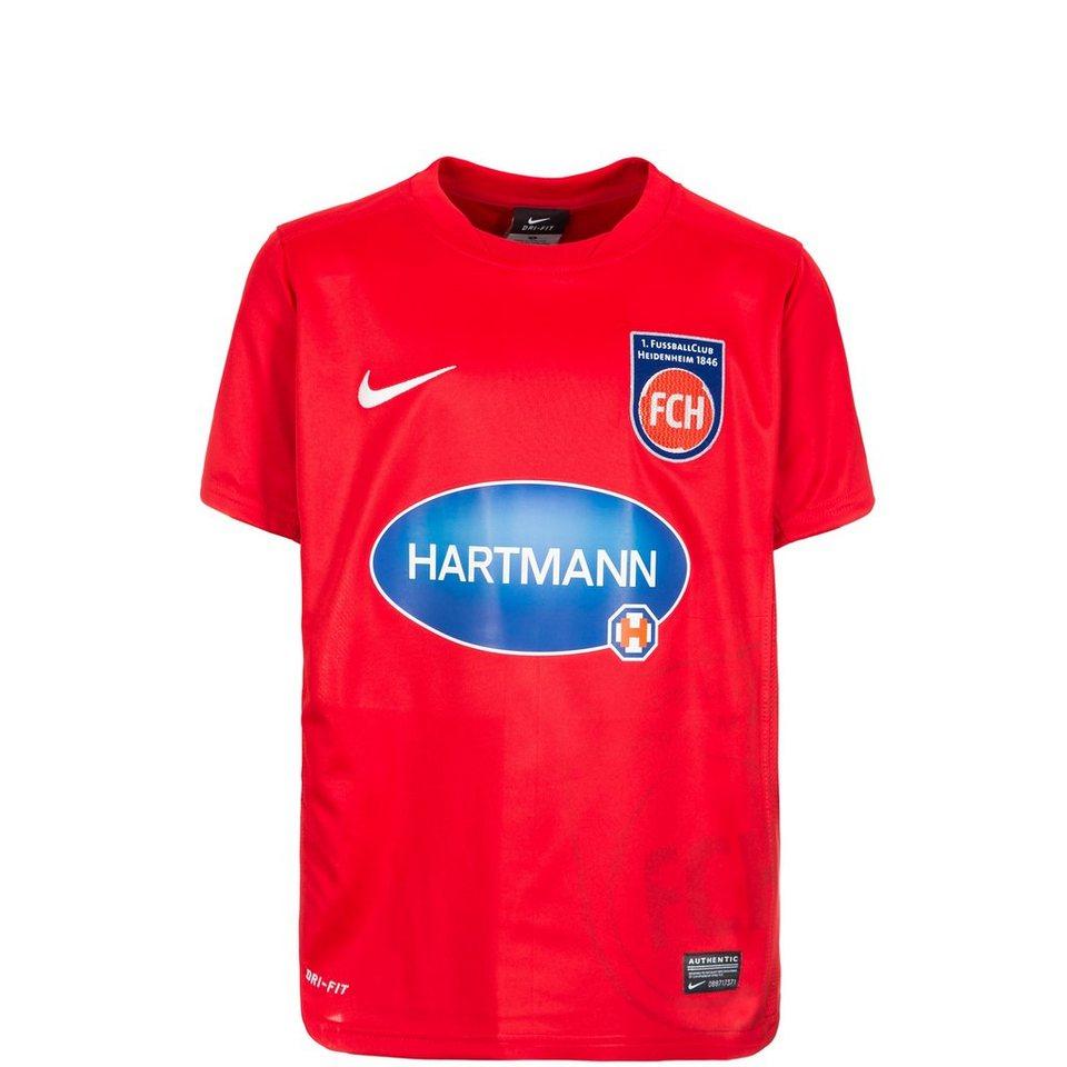 NIKE 1. FC Heidenheim Trikot Away 2015/2016 Kinder in rot