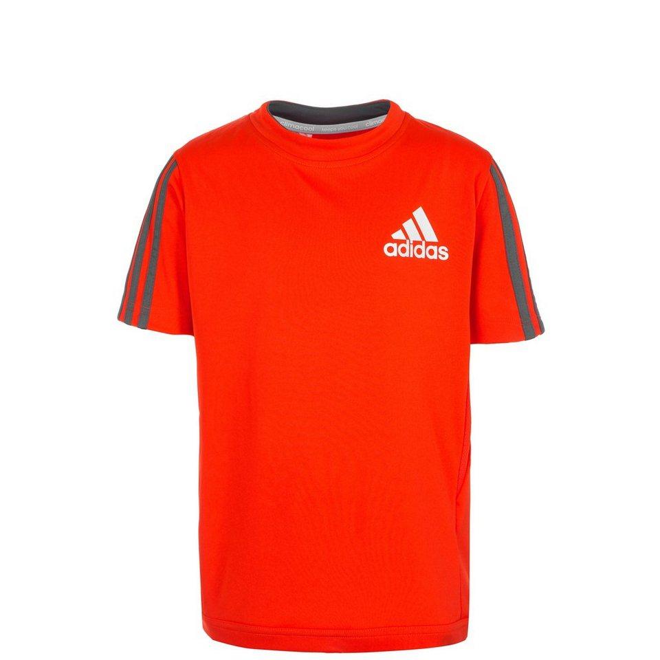 adidas Performance Clima Trainingsshirt Kinder in bold orange