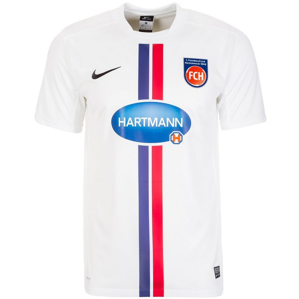 NIKE 1. FC Heidenheim Trikot Home 2015/2016 Herren in weiß