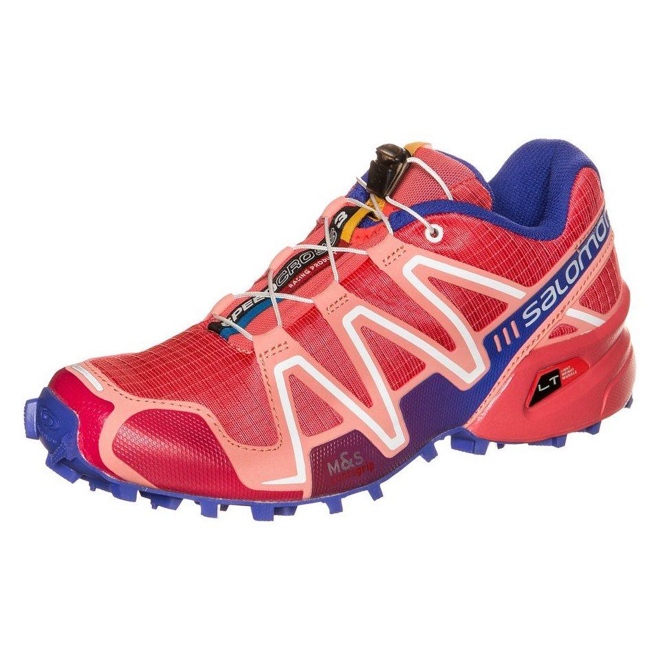 Salomon Speedcross 3 Trail Laufschuh Damen in rosa / rot / blau